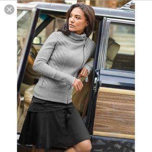 Athleta Wherever Skort Skirt Size 6 Black